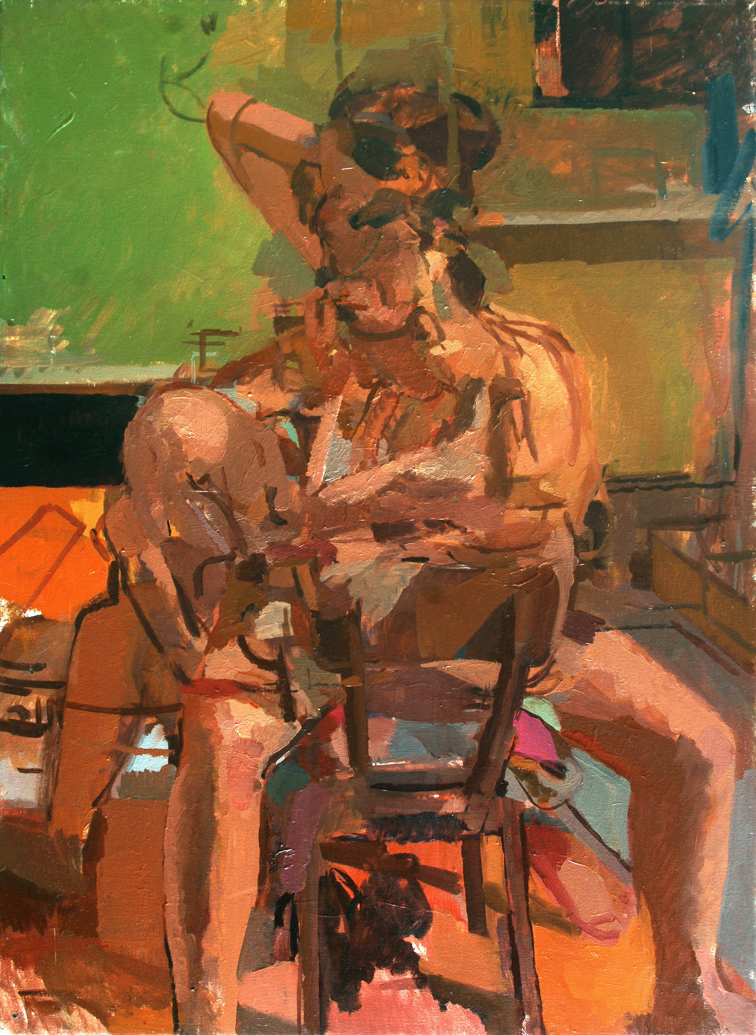 """Study""2009   Oil on canvas"