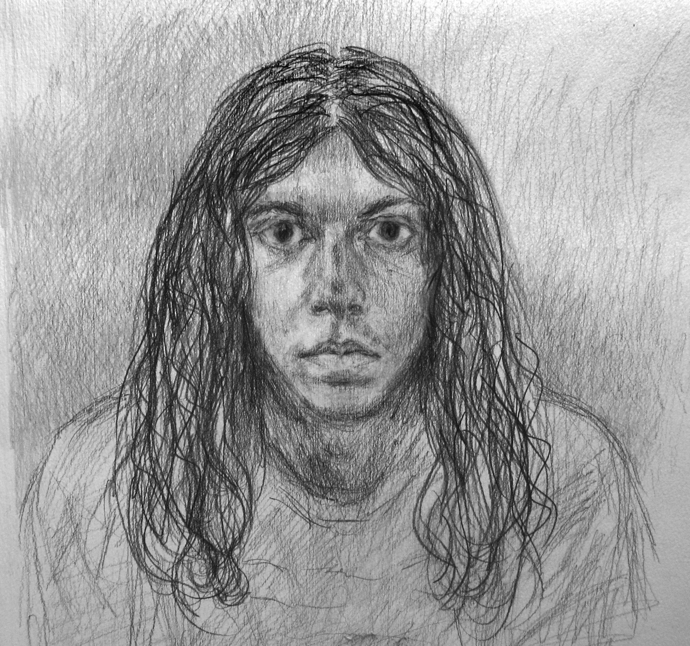 """Eduardo""2008   Pencil on paper"