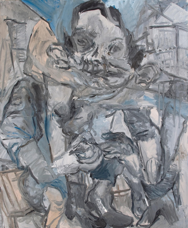 """""""Anna"""" 2014   Oil on canvas. 120 x 100 cm"""