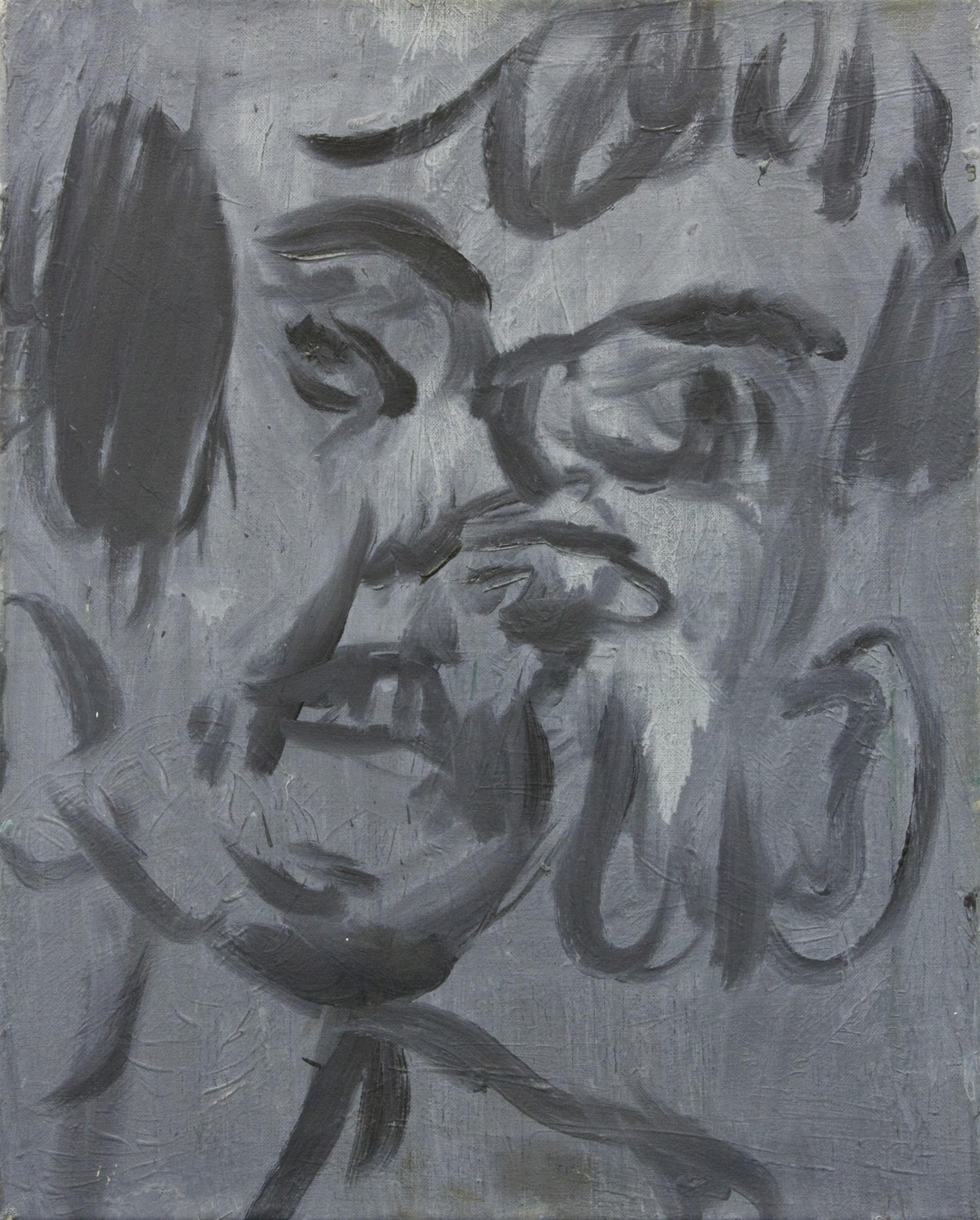 'Self' 2015   Oil on linen. 50 x 40 cm