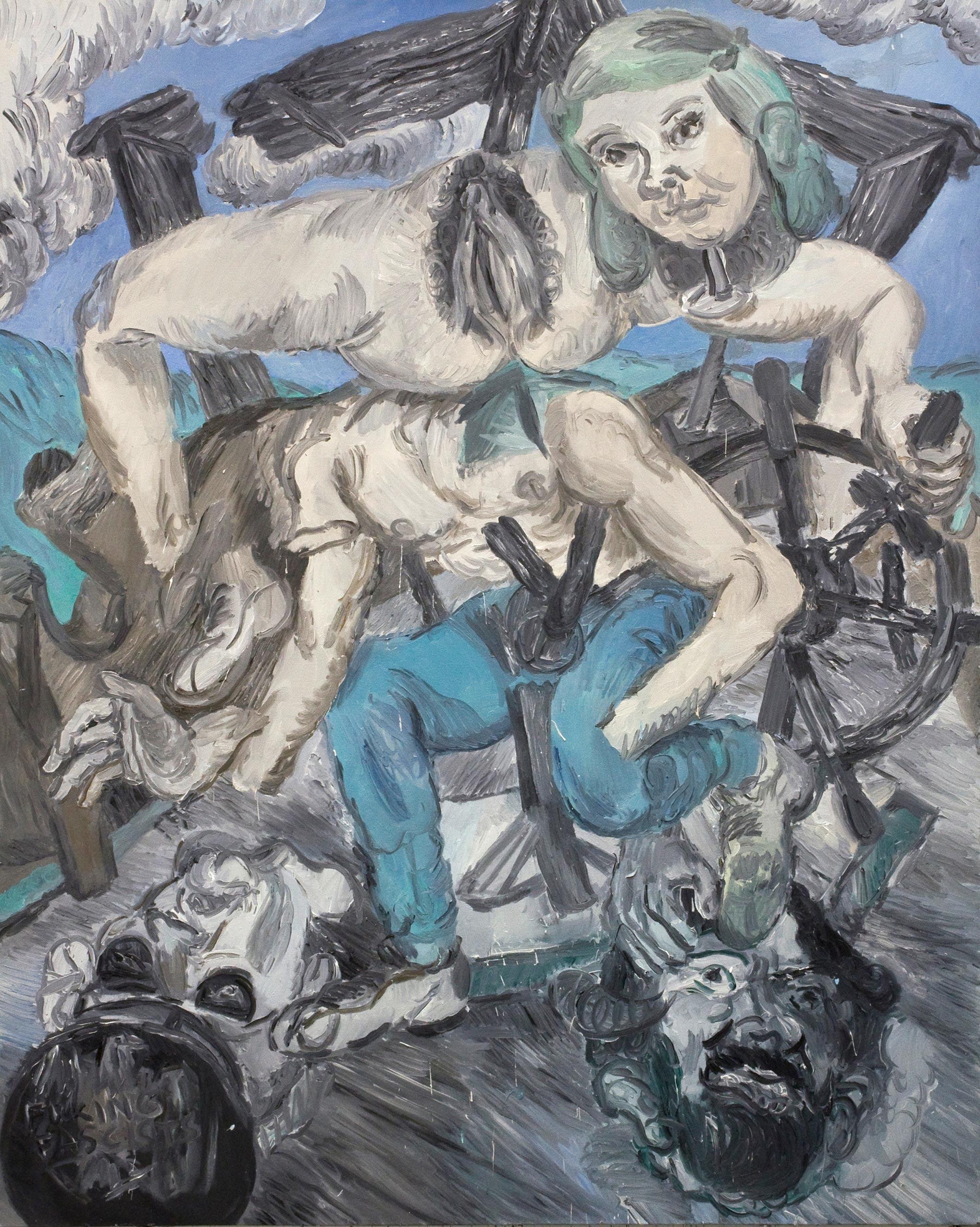 'Song' 2016   Oil on linen. 190 x 150 cm