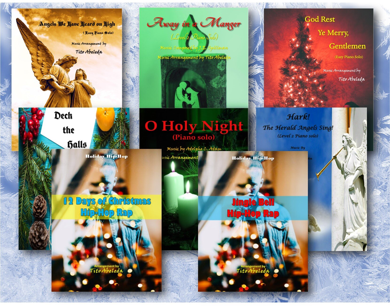 Visionary Quest Records' Sheet Music Christmas Collection