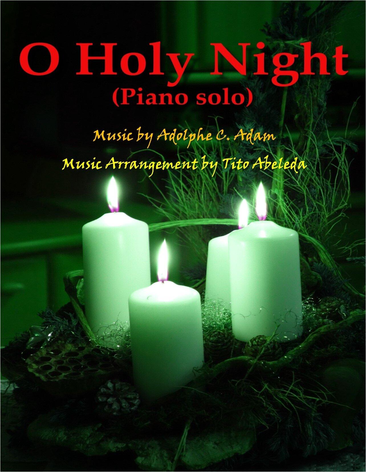 O Holy Night (Piano Solo)