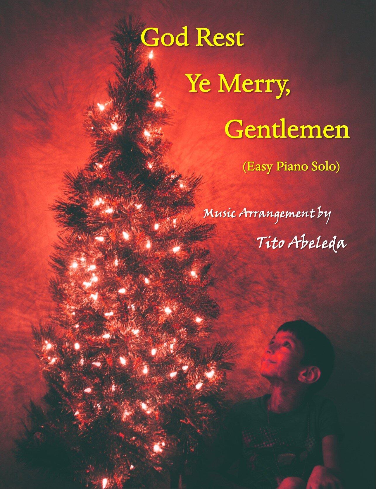 God Rest Ye Merry, Gentlemen (Easy Piano Solo)