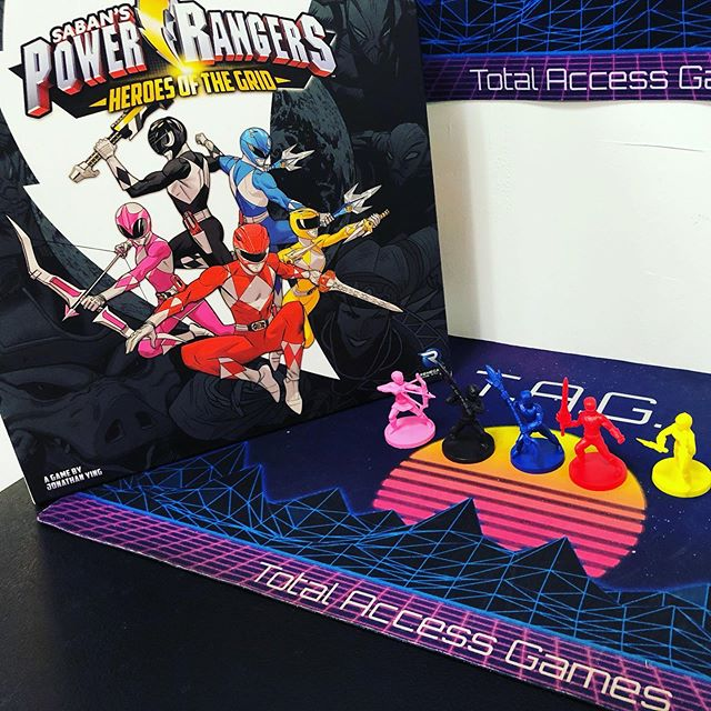 We are looking for 3 Power Rangers players to join us at the shop this Tuesday afternoon around 6pm for a learn to play/demo of Power Rangers Heros of the Grid.
