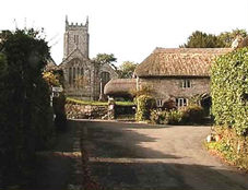 Throwleigh Church (courtesy of  Throwleigh Archive )