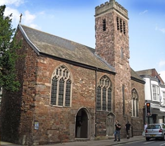 St Olaves Church, Exeter (mostly 14th century)