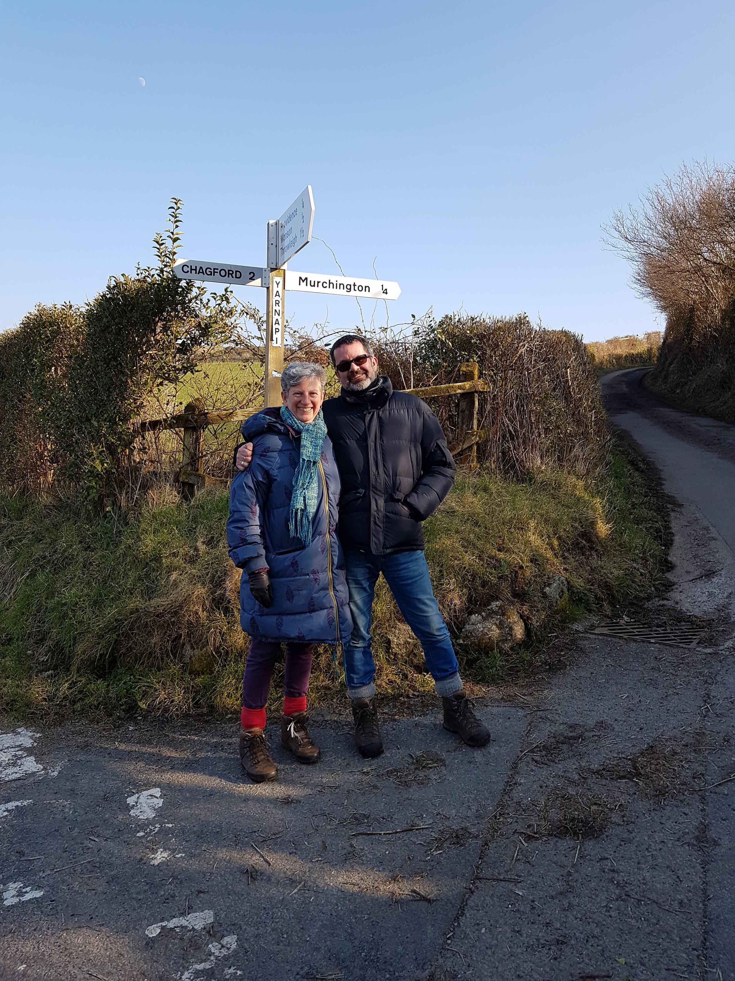 A February walk