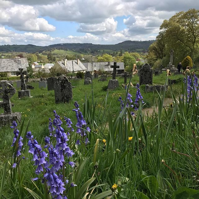 May views from two churchyards #Dartmoor