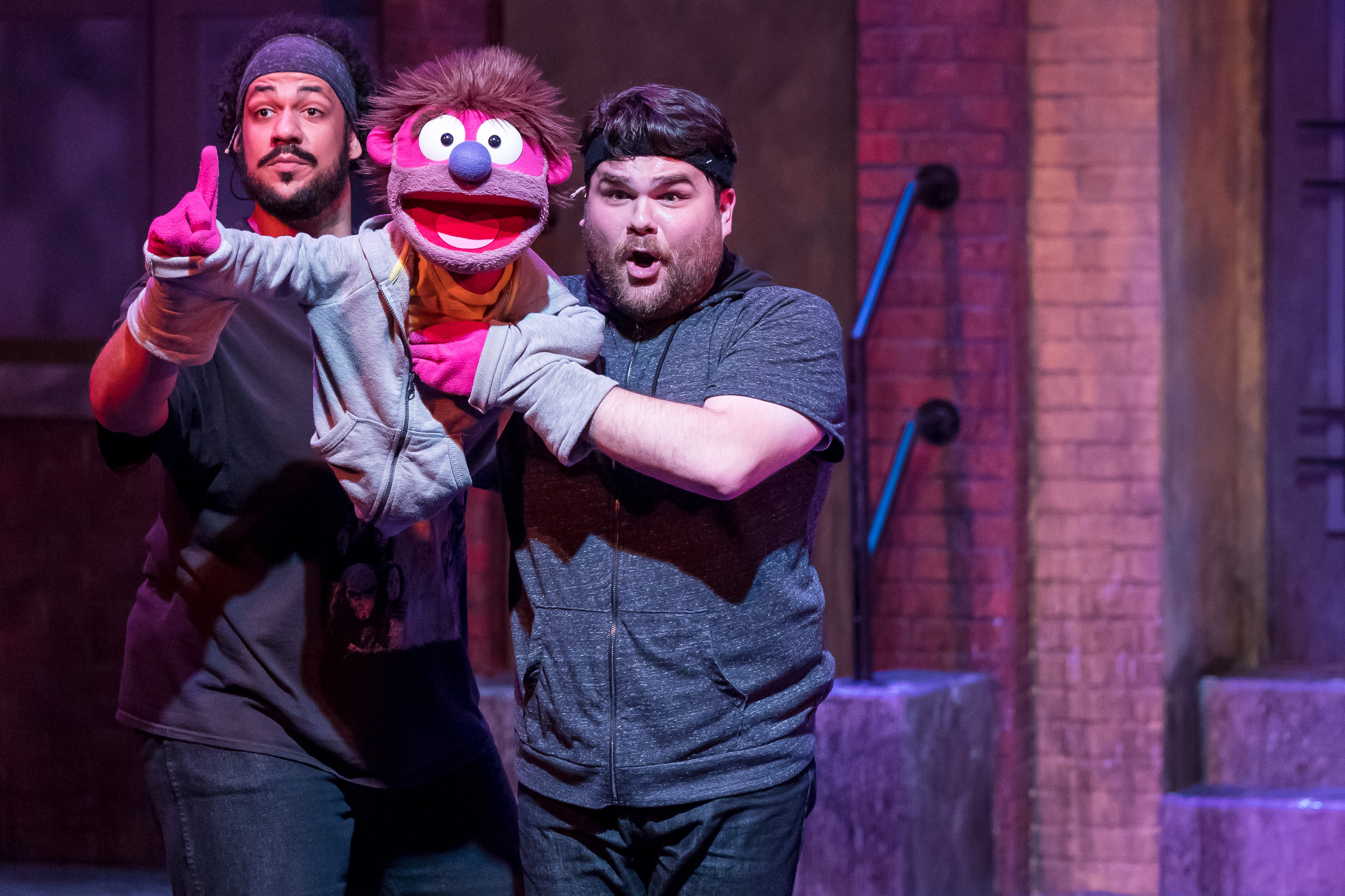Mercury's Avenue Q '18 - Jonah D. Winston and Dan Smeriglio (Nicky).jpg