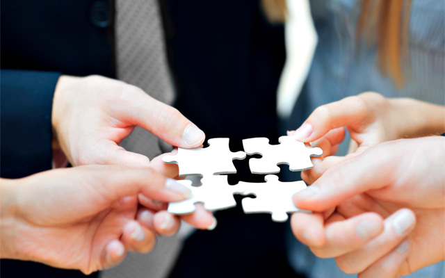 Putting the right pieces together is the key to a successful and lasting partnership. Share dreams and realise ambitions! -