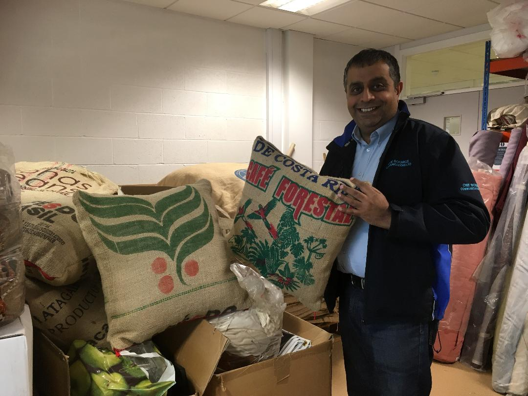Peterborough Reuse take an innovative approach to putting materials to new uses, avoiding them heading to landfill, and providing employment in the process