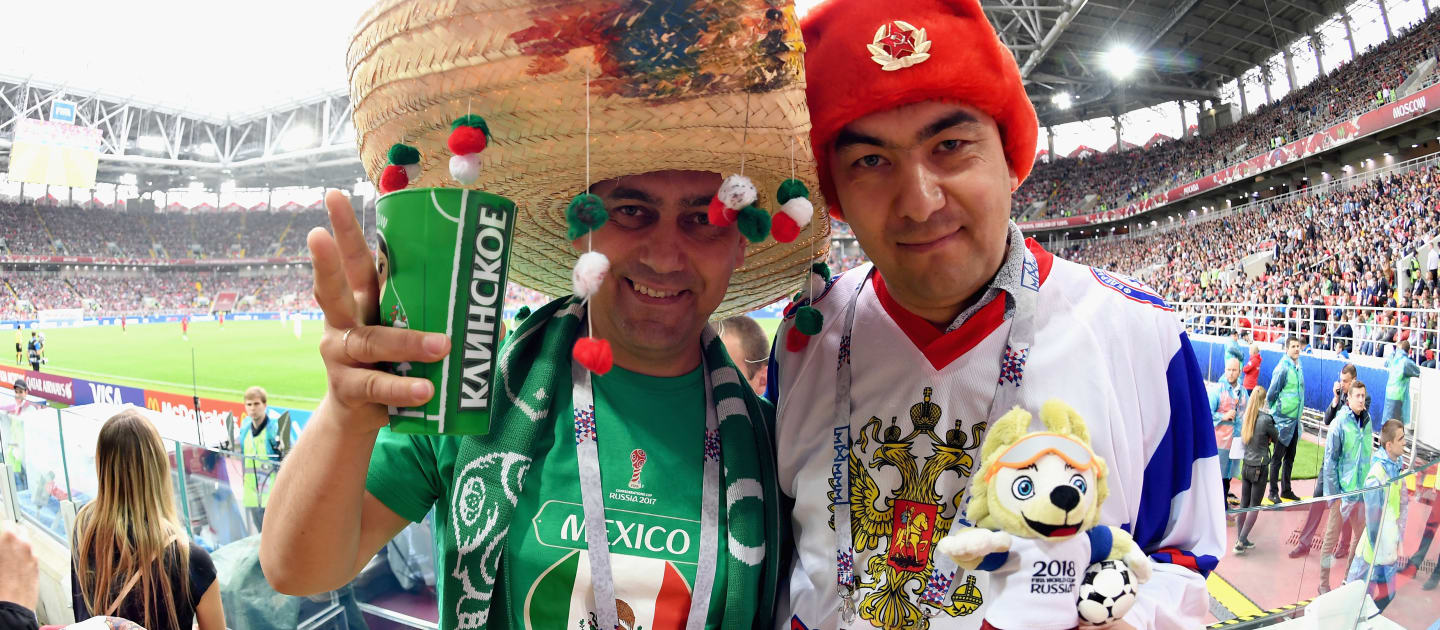 Travelling fans will account for 75% of the total Carbon emissions associated with the Fifa World Cup in Russia 2018