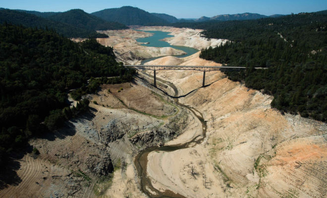 Where once there was water! Mega-drought in California - is this becoming the norm?