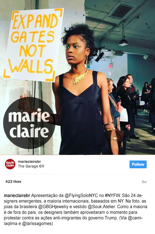 Flying Solo Marie Claire