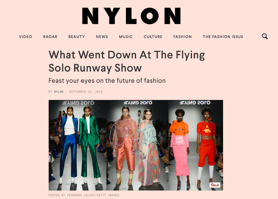 Flying Solo  Nylon Magazine