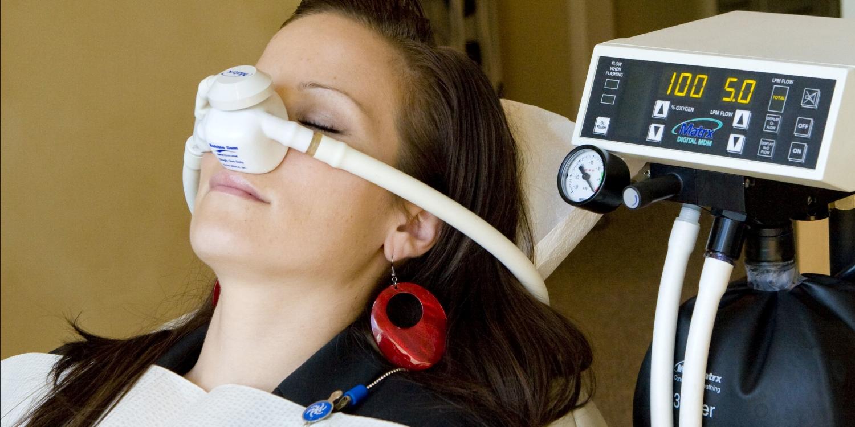 Inhaled minimal sedation. - Nitrous Oxide