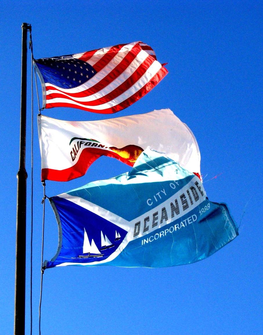 pier flags