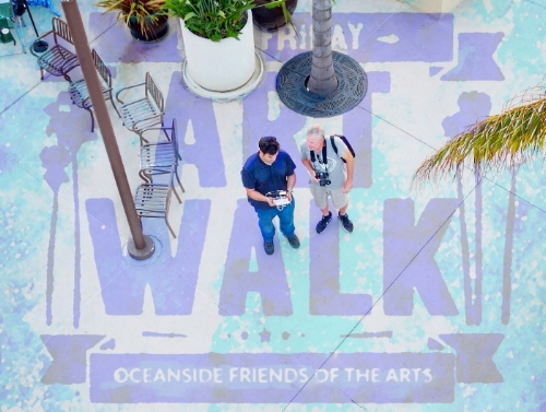 BOARD MEMBER AND ARTIST OF THE   FIRST FRIDAY ART WALK  OCEANSIDE