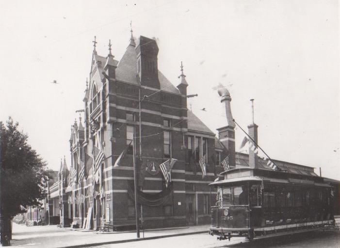 Image Credit: L C Muller, Madison Avenue Car house, 1909
