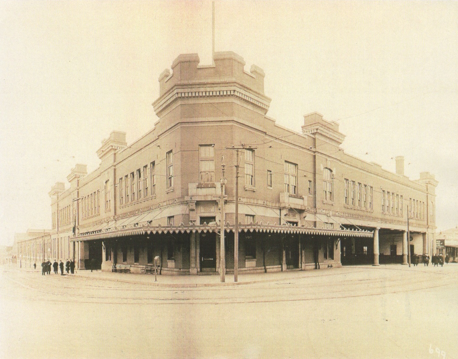 Image Credit: BSM Archives, Park Terminal, approx 1910