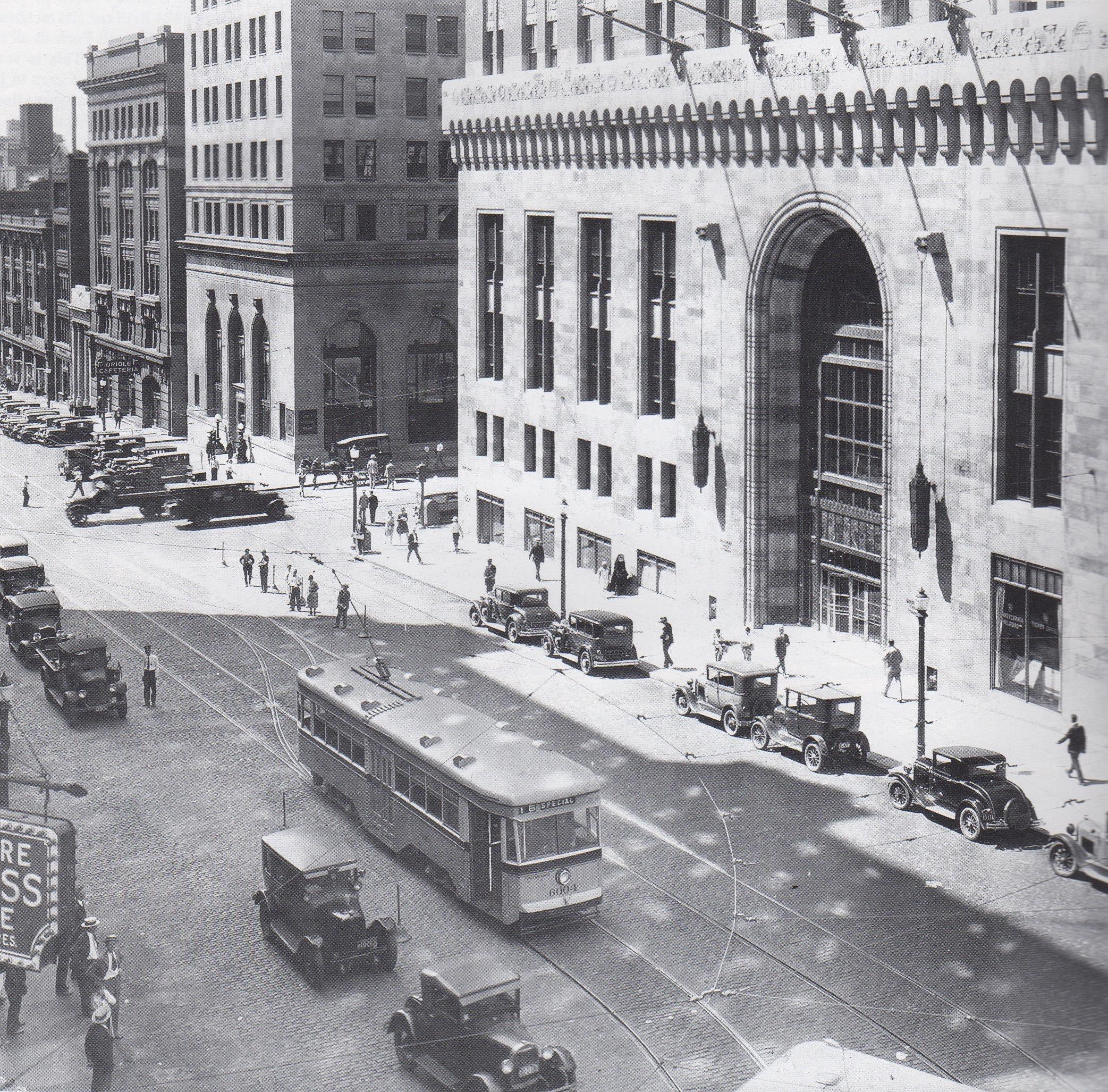 Image Credit: Louis C Mueller Collection, Baltimore Trust Building, 1930
