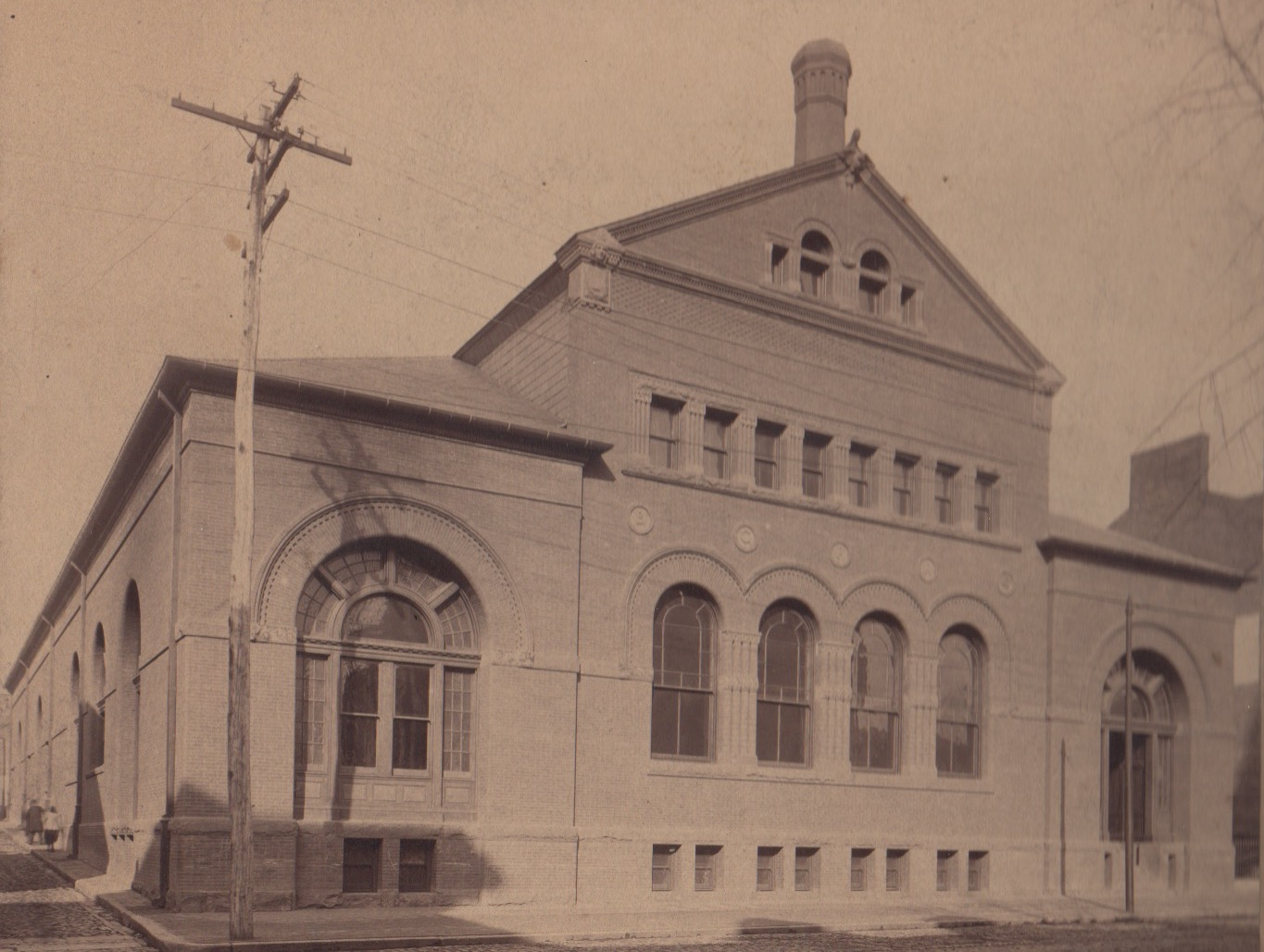 Image Credit: BSM Archives, Baltimore and East Street Cable Power House, 1893