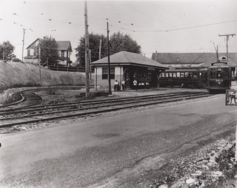 Image Credit: BSM Archives, Overlea Loop, 1925