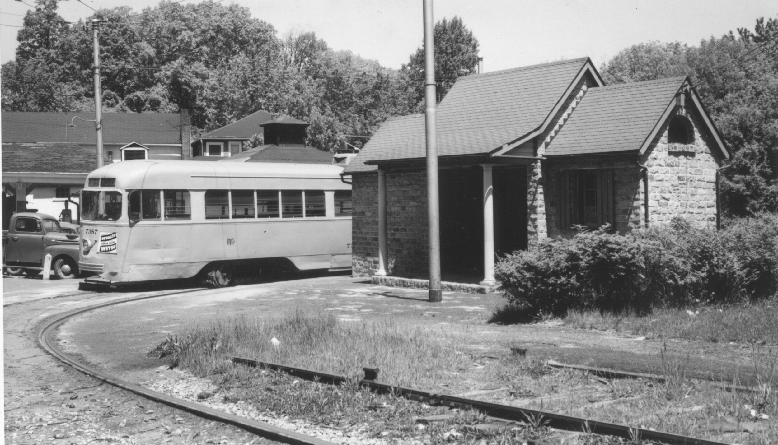 Image Credit: Ed Miller, Catonsville Junction, 1950