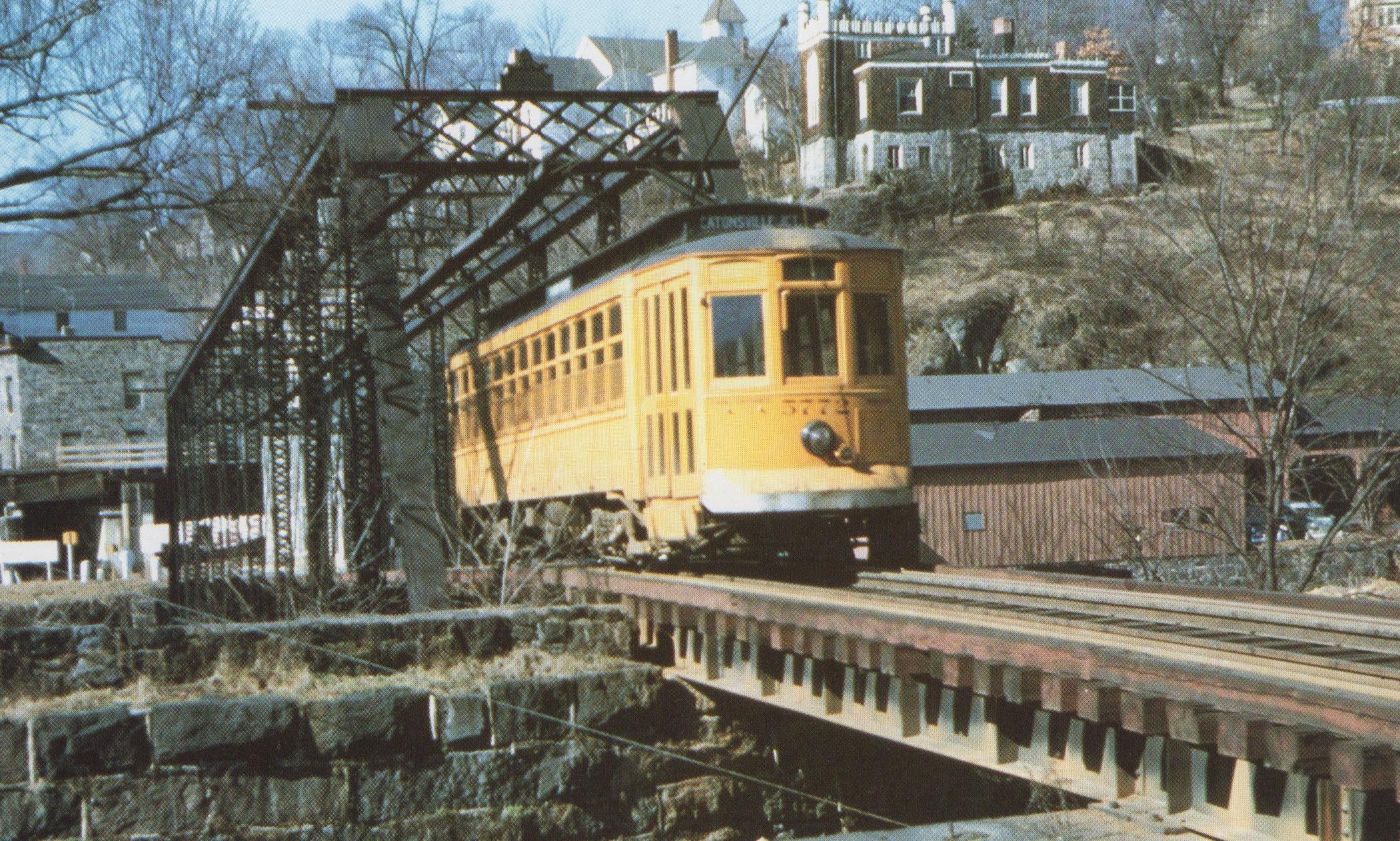 Image Credit: BSM Archive, Ellicott City Bridge, 1955