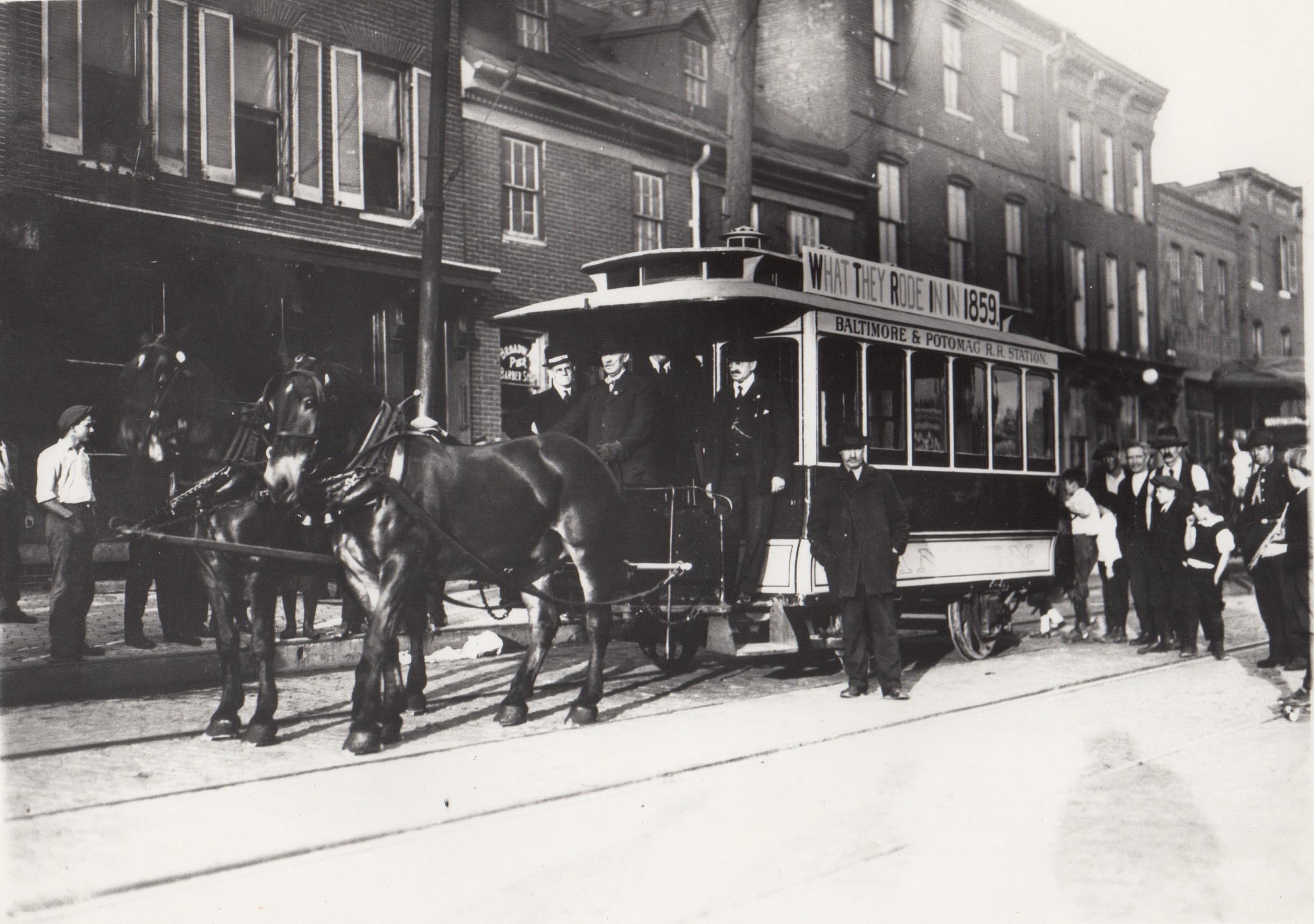 Image Credit: GF Nixon, Thames Street Horsecar Barn