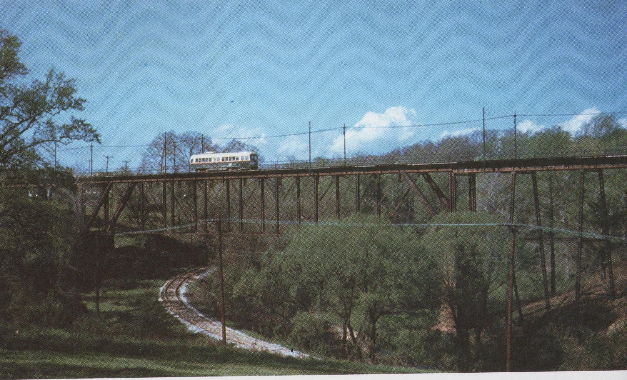 Image Credit: BSM Archive, Huntington Ave Viaduct, 25 line, 1949