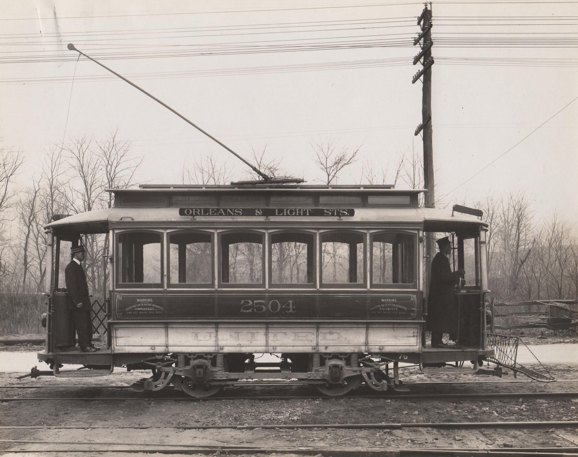 Image Credit: BSM Archive, 25 line ran along Falls Road, 1896