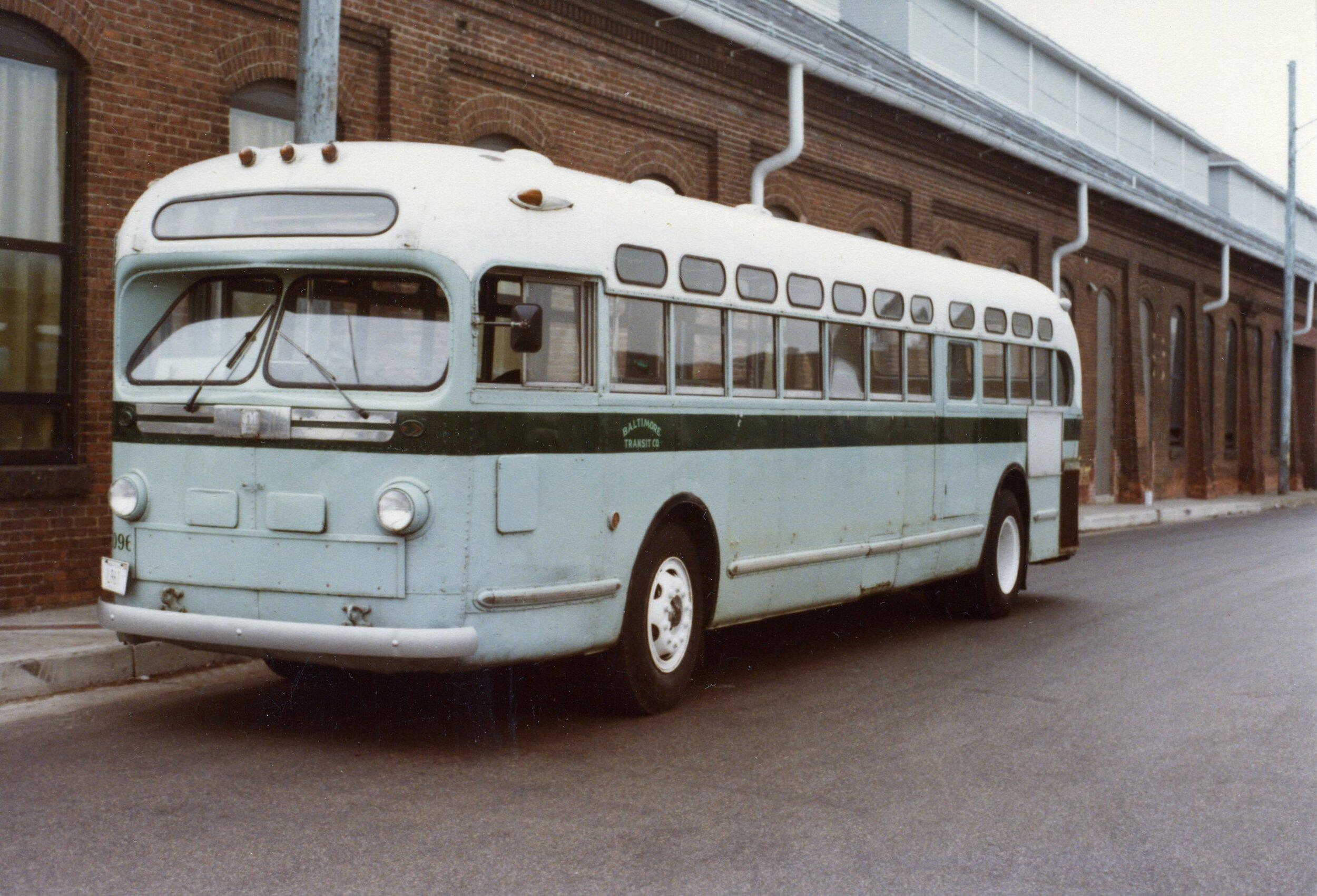 BTC 1096, Carroll Park, ca-1970s. Image Credit: MRHL Archives