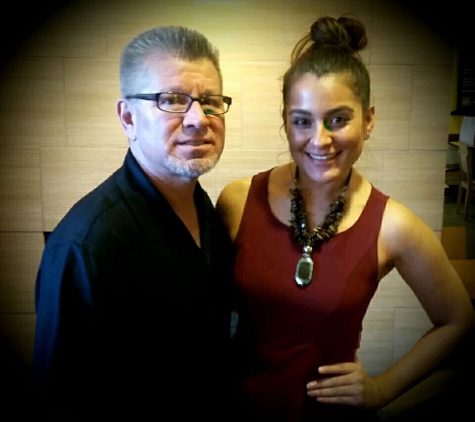 Barrio and Carolina Roman the PR Director of the Miss Illinois Latina Organization are planning a huge initiative to address the Chicago violence issues.jpg