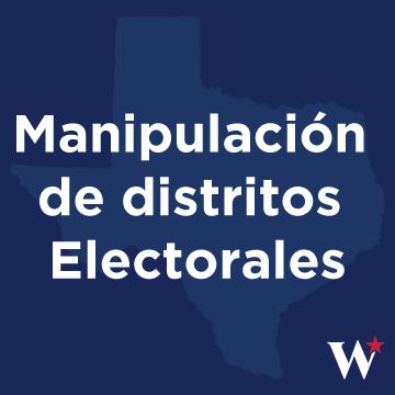 Manipulación de distritos electorales    Suficientemente bueno   para ser trabajo gubernamental.    lee mas