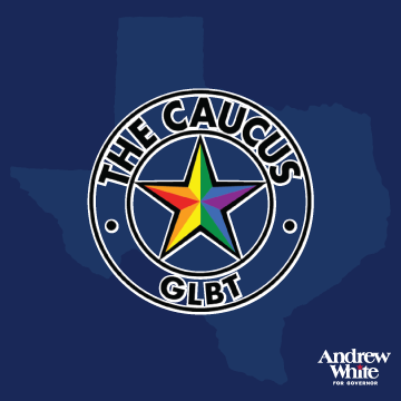 "The GLBT Political Caucus    ""Our members were convinced [Andrew]  would be best positioned to fight back hard against the aggressive bigotry we are getting from our governor"""
