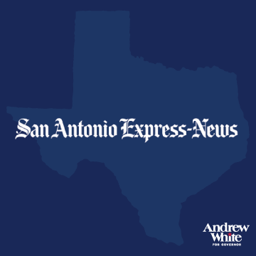 San Antonio Express News    White, a Houston businessman and son of former Gov. Mark White, demonstrates far more knowledge of the complexities of state governance and speaks with more specifics on the topic.   Read More