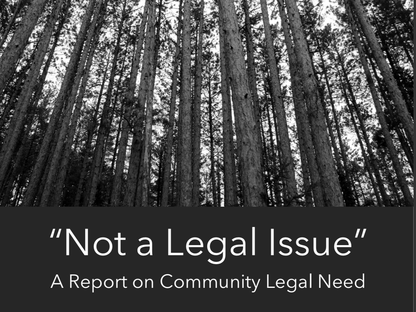 LASNEM Report - On behalf of Legal Aid Service of Northeastern Minnesota (LASNEM), we utilized extensive mixed-methods research, data visualization, and mapping to identify the complex regional needs that exist across LASNEM's nearly 28,000 square mile service area.The assessment can be found here.