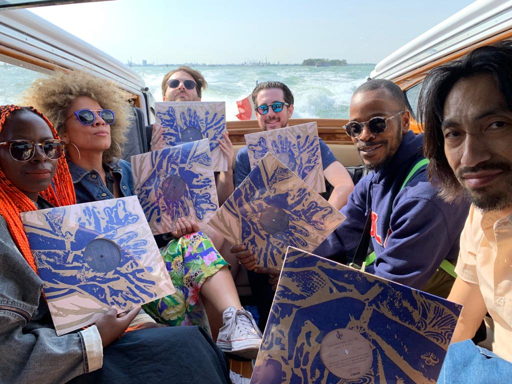 "The crew in Venice sporting the new 12""…."