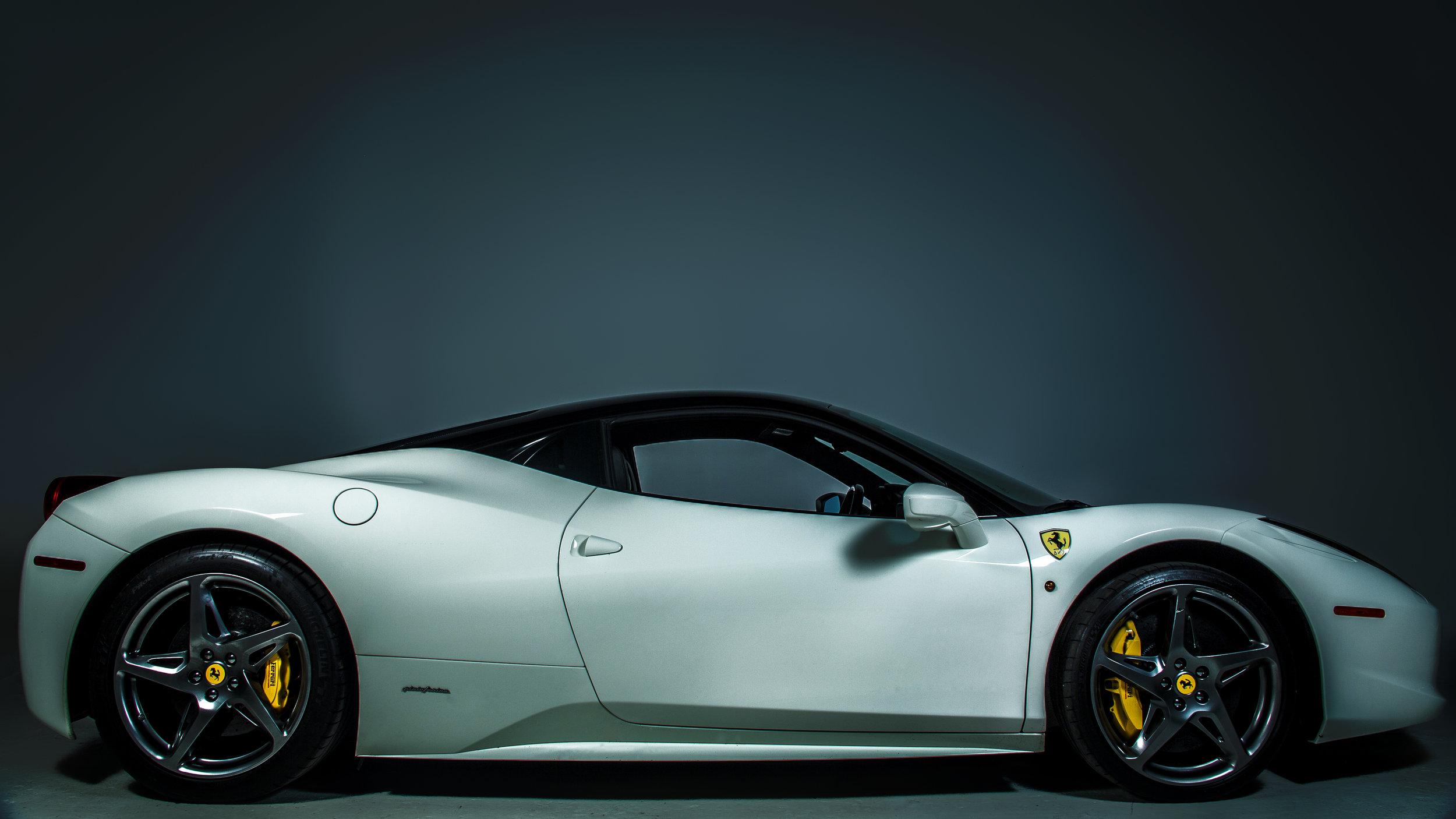 Ferrari At BMJ Studios
