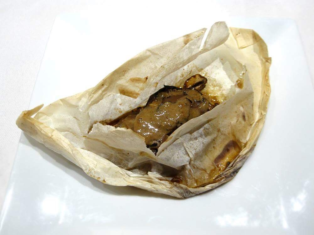 Mushrooms & Truffles en Papillote