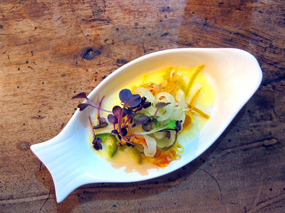 escabeche of mackerel, smoked arbequino oil and fennel..jpg