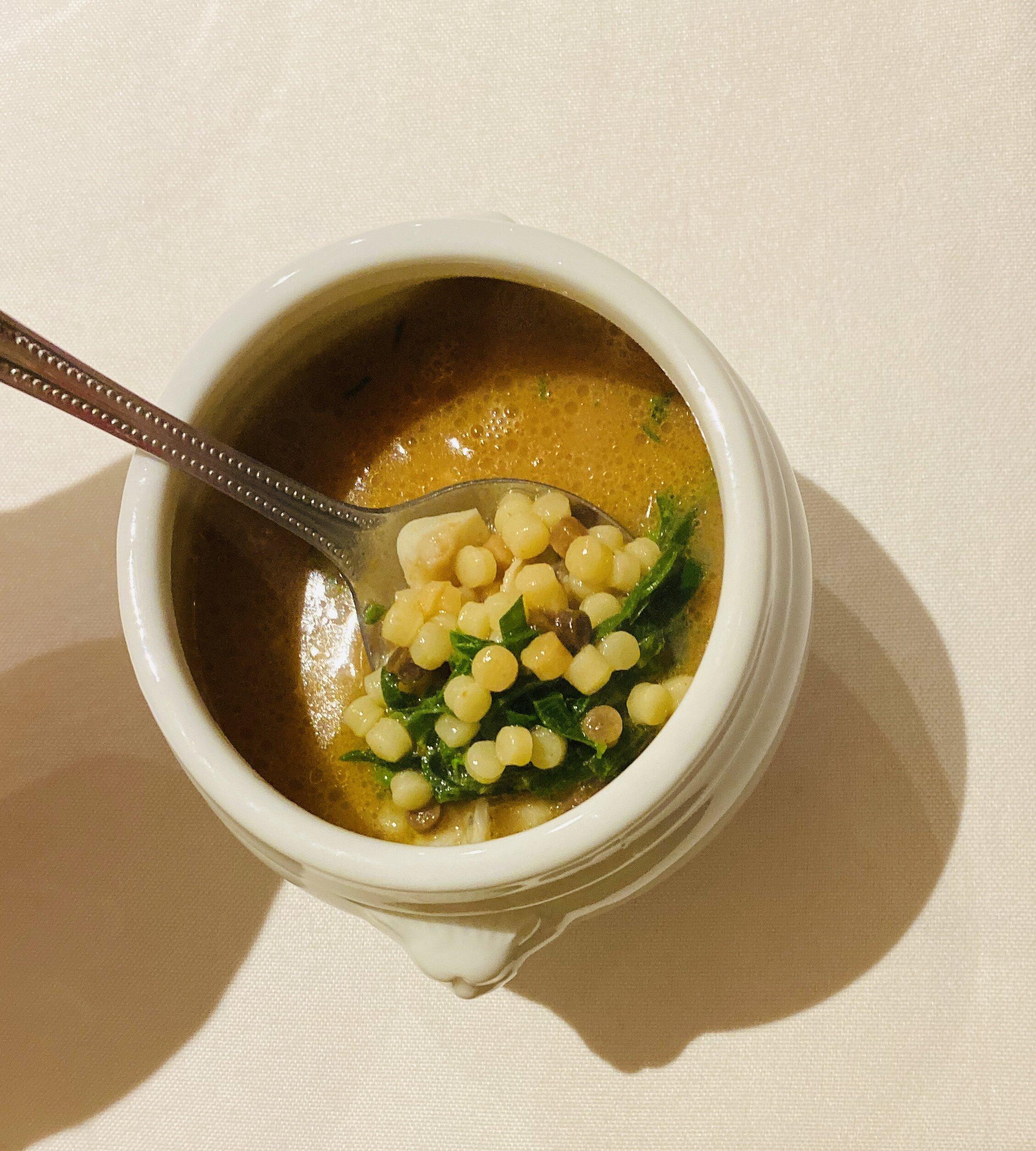 Razor Clam & Fregola Soup.JPG