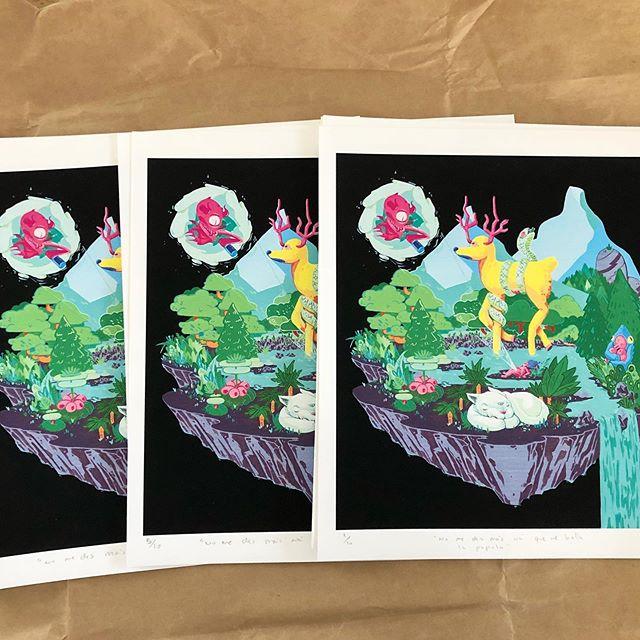 🚨🚨🚨Solo quedan 4 de estos prints. Serie de 10. By @_elcoca