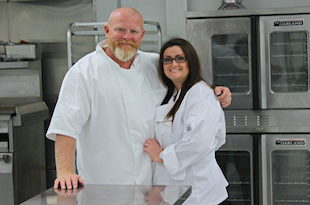 Owners Jeff and Stacey Temperley
