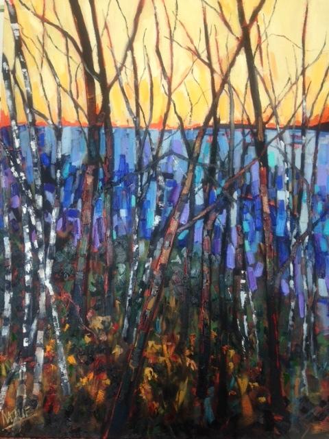 """""""Serenity at Lake Ontario Park - $2000."""