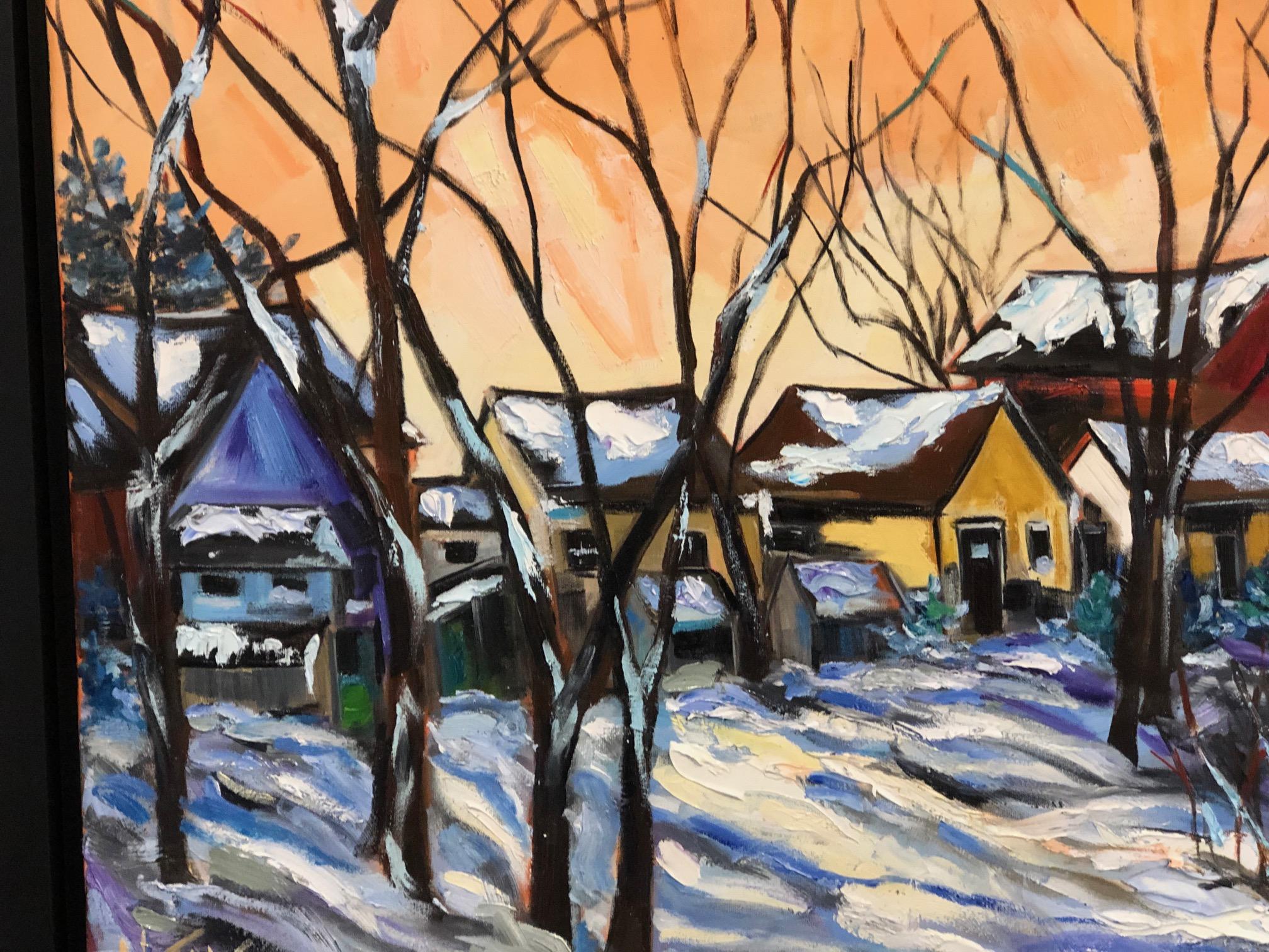 Backyard Winter - $1500.00