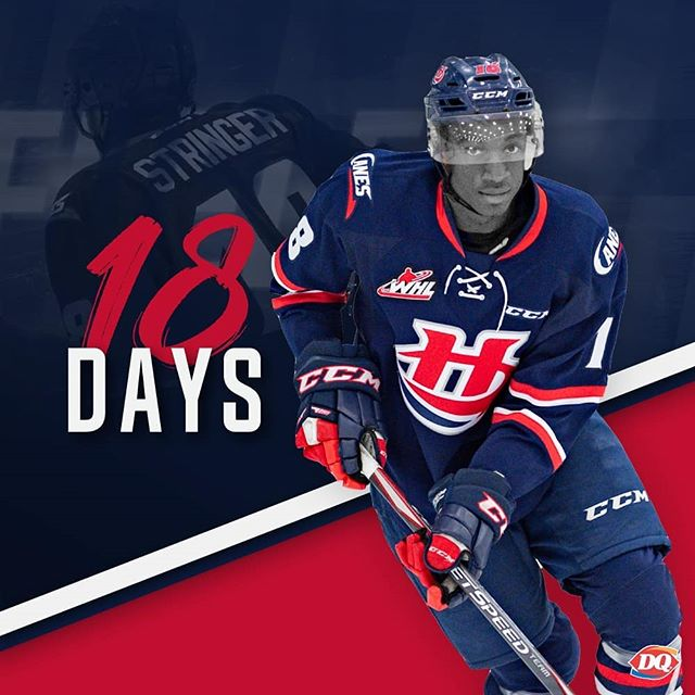Zack Stringer more days until the @dqcanada Home Opener!! Tickets go on sale September 11th 👏🏻