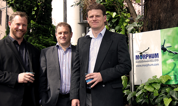 """<div align=""""left""""><h3>NZI 2015 Sustainable Business Network Awards Finalist, Sustainability Champion: Caleb Clarke, Damian Young and Dean Watts</h3></div>"""
